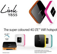 WiFiルーター海外SIMフリーAlcatelY8554GLTE