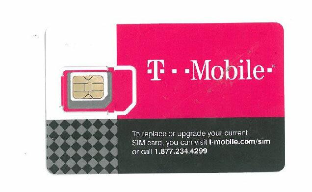 アメリカ・ハワイ プリペイド SIMカード 4G T-Mobile 【大容量20GBのデータ定額!開通後15日間 (カナダ、メキシコ) ローミング可能】