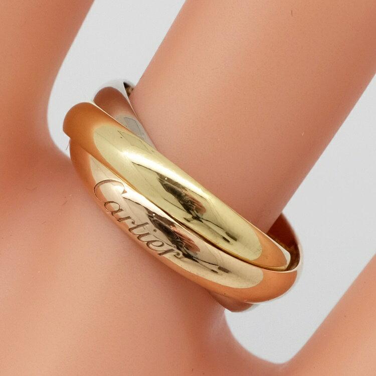 レディースジュエリー・アクセサリー, 指輪・リング Cartier SM 3 K18WGYGPG 499 SA