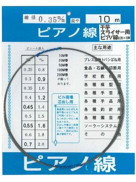 干し芋スライサー用 ピアノ線 0.35mmX10m