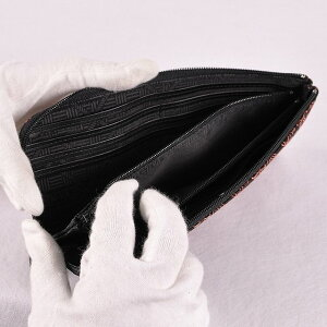 【印傳屋】【印伝屋】財布束入A(長財布タイプ)黒地ピンク漆・雪割草《無料ラッピング承ります》《送料無料》【レディース財布/長財布(小銭入あり)】【RCP】