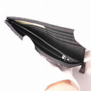 【印傳屋】【印伝屋】財布束入A(長財布タイプ)紫地白漆・とんぼ《無料ラッピング承ります》《送料無料》【RCP】【10P30May15】【レディース財布/長財布(小銭入あり)】