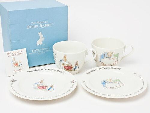 ピーターラビット ペアモーニングセット p-rabbit-01お茶のふじい・藤井茶舗
