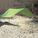 Ripen(ライペン アライテント) ×ビバークタープM 0381100アウトドアギア スクエア型タープ テント グリーン