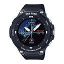 CASIO(カシオ) Smart Outdoor Watch PRO TREK Smart/ブラック WSD-F20-BKアウトドアギア 高機能ウォッチ メンズ腕時計 おうちキャンプ