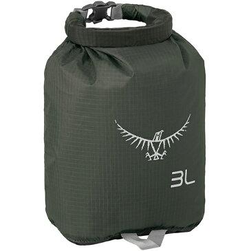 OSPREY(オスプレー) ULドライサック 3/シャドーグレー OS58600グレー ダイビングバッグ シュノーケリング ダイビング 防水バッグ・マップケース ドライバッグ アウトドアギア
