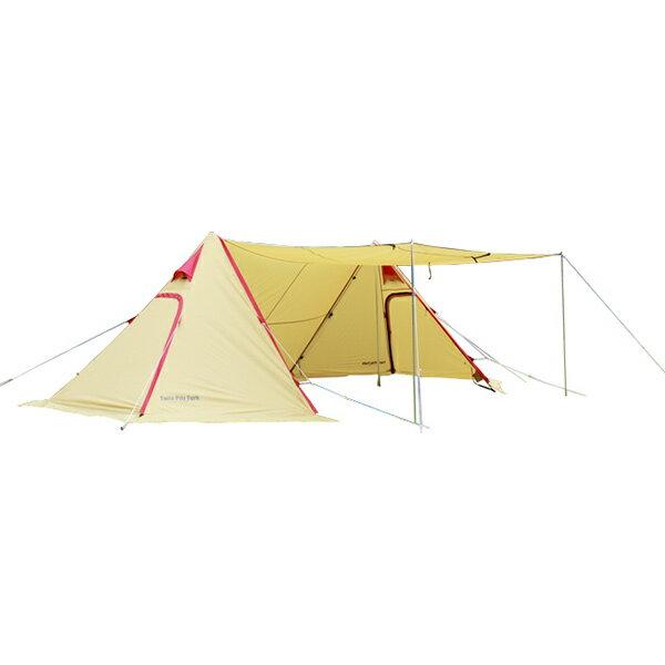 ogawa campal(小川キャンパル) ツインピルツ フォーク 3342タープ テント ヘキサ・ウイング型タープ アウトドアギア:山渓オンラインショップ