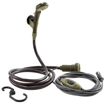 OUTDOOR LOGOS(ロゴス) パワードシャワー(DC専用)YD 69930011携帯用シャワー ボディボード サーフィン アウトドアギア