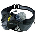 mont-bell(モンベル) ウエストボトルケージ/GM/M/L 1123862 [0018_1123862] アウトドアギア バッグ ウェストバッグ スポーツ ウエストバッグ レジャー トレッキング 登山用 品 ザック リュック