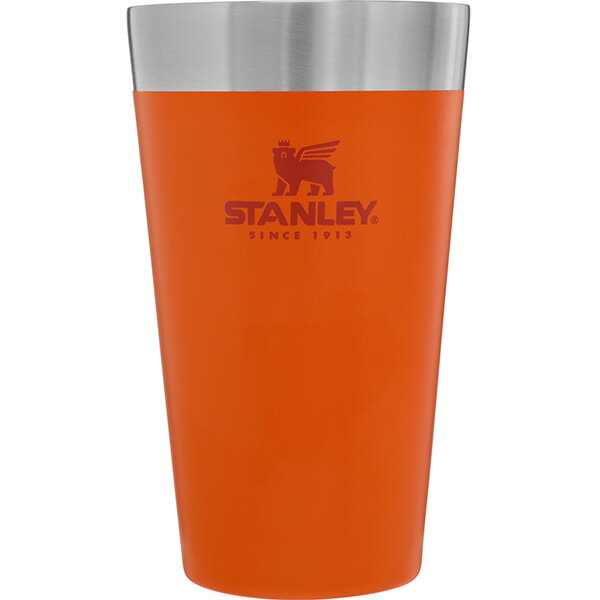 STANLEY(スタンレー) スタッキング真空パイント/0.47L/オレンジ 02282-129アウトドアギア マグカップ・タンブラー グラス オレンジ おうちキャンプ ベランピング画像