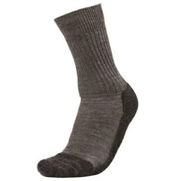 EVERNEW(エバニュー) トレッキングソックス(薄手)/ロック/メル705/M EBM162男性用 ブラウン 靴下 メンズウェア ウェア ソックス ウール アウトドアウェア