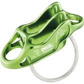 PETZL(ペツル) ルベルソ4/Green D17 AGディセンダー トレッキング 登山 ディッセンダー 確保器 アウトドアギア