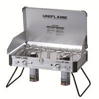 UNIFLAME(ユニフレーム)ツインバーナーUS-1900610305キャンプ用バーナークッキング用品バーべキューツーバーナーストーブストーブガスアウトドアギア