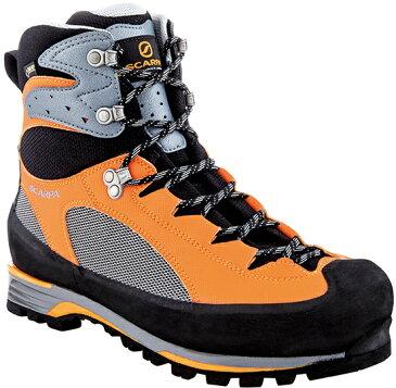 SCARPA(スカルパ) シャルモ プロ GTX/グレー/オレンジ/#43 SC23071ブーツ 靴 トレッキング トレッキングシューズ トレッキング用 アウトドアギア