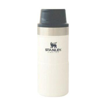 ★エントリーでポイント10倍!STANLEY(スタンレー) クラシック真空ワンハンドマグ2 0.35L/ホワイト 06440-024アウトドアギア ステンレスボトル 水筒 マグボトル ホワイト