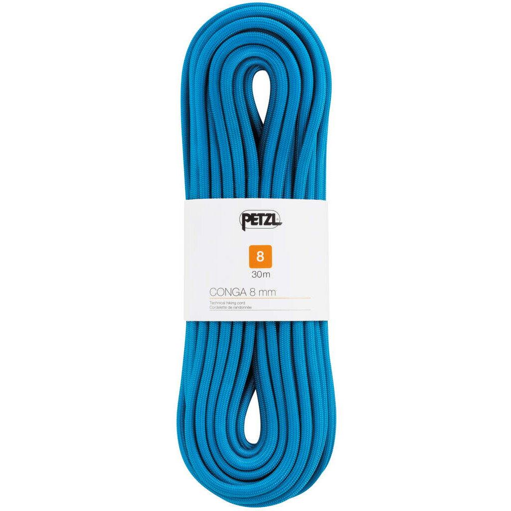 PETZL(ペツル) コンガ 8mm/blue/30 R42AB030ブルー トレッキング 登山 アウトドア ロープ アクセサリーコード アウトドアギア