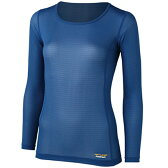 finetrack(ファイントラック) アクティブスキンロングスリーブ Ws OC FUW0511女性用 ブルー 防寒インナー レディースウェア ウェア 女性用インナー 長袖シャツ アウトドアウェア