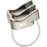 PETZL(ペツル) ベルソ/Titanium D19TIディセンダー トレッキング 登山 ディッセンダー 確保器 アウトドアギア