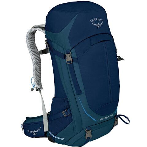 OSPREY(オスプレー) ストラトス 36/エクリプスブルー/M/L OS50301002006アウトドアギア トレッキング30 トレッキングパック バッグ バックパック リュック ブルー 男性用 おうちキャンプ