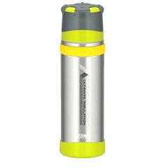 THERMOS(サーモス) 新製品「山専ボトル」ステンレスボトル/0.5L/ライムグリーン(L…