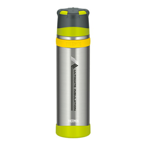THERMOS(サーモス) 新製品「山専ボトル」ステンレスボトル/0.9L/ライムグリーン(LMG) FFX-900山専...