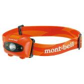 mont-bell(モンベル) パワー ヘッドランプ/BTOG 1124586オレンジ ヘッドライト ライト アウトドア LEDタイプ アウトドアギア