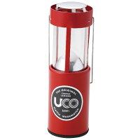UCO(ユーシーオー) キャンドルランタン/レッド 24351レッド ランタン ランタン ライト ランタンキャンドル アウトドアギア