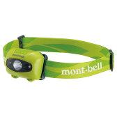 mont-bell(モンベル) パワー ヘッドランプ/FRGN 1124586グリーン ヘッドライト ライト アウトドア LEDタイプ アウトドアギア