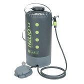 NEMO(ニーモ・イクイップメント) ヘリオLX プレッシャーシャワー NM-HELX-BKブラック 携帯用シャワー アクセサリー サーフィン シャワー アウトドアギア