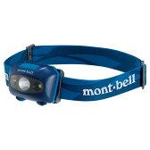 mont-bell(モンベル) パワー ヘッドランプ/IND 1124586ブルー ヘッドライト ライト アウトドア LEDタイプ アウトドアギア