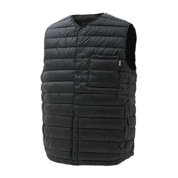 NANGA(ナンガ) ダウンベスト/BLK/XL DVT112男性用 ブラック カットソー Tシャツ トップス 半袖Tシャツ 半袖Tシャツ男性用 アウトドアウェア