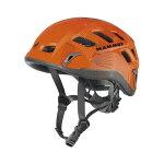 Mammut(マムート)RockRider/orange-smoke(2100)/56-61cm2220-00130ヘルメットトレッキング登山アウトドアギア