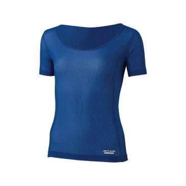 finetrack(ファイントラック) スキンメッシュT Ws NV FUW0412女性用 ネイビー インナーシャツ 下着 インナー 女性用インナー 半袖シャツ アウトドアウェア