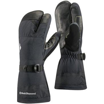 納期:2018年12月上旬Black Diamond(ブラックダイヤモンド) ソロイスト フィンガー/ブラック/L BD73012男女兼用 ブラック 手袋 メンズウェア ウェア ウェアアクセサリー 冬用グローブ アウトドアウェア