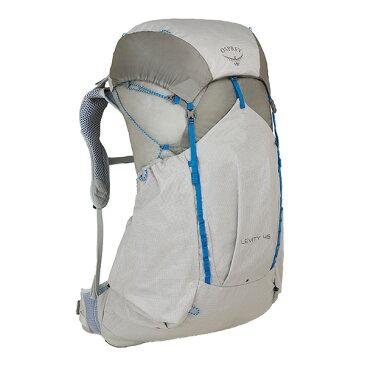 OSPREY(オスプレー) レヴィティ 45/パララックスシルバー/L OS50342男性用 グレー リュック バックパック バッグ トレッキングパック トレッキング40 アウトドアギア