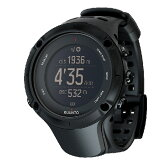 SUUNTO(スント) 正規品・2年保証 AMBIT3 PEAK BLACK(アンビット3ピークブラック) SS020677000男女兼用腕時計 腕時計 時計 高機能ウォッチ アウトドアギア
