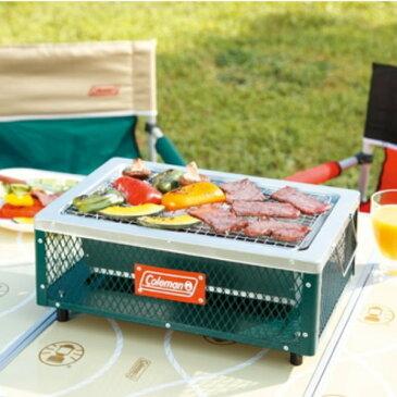 Coleman(コールマン) クールステージテーブルトップグリル 170-9368アウトドアギア バーベキューグリル卓上式 バーベキューグリル バーべキュー クッキング クッキング用品 バーベキューコンロ グリーン