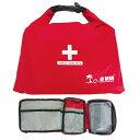 JR GEAR(ジェイアールギア) First Aid Bag II/Red(20) FAB002応...