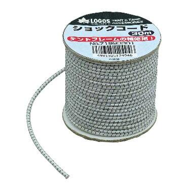OUTDOOR LOGOS(ロゴス) ショックコード30m 71993301ペグ テントアクセサリー タープ ハンマー・ペグ・ロープ等 テントペグ アウトドアギア