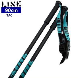 ★[90cm]19 LINE TAC カラー:TEAL 耐久性のあるストックでパークやトリックにオススメ ライン タック スキー ストック ポール 日本正規品