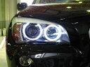 レーシングダッシュのV字LEDイカリングバルブ 超高輝度6W LED仕様BMW X1 E84 爆白6W LEDイカリ...