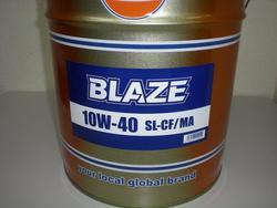 GulfBLAZEガルフブレイズ鉱物油10W-40・20L