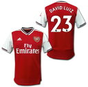 アーセナル 19/20 ホーム(赤白) #23 DAVID LUIZ ダビド・ルイス adidas【メール便送料無料】