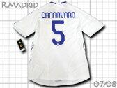 レアルマドリード 07/08 ホーム #5 カンナバーロ adidas