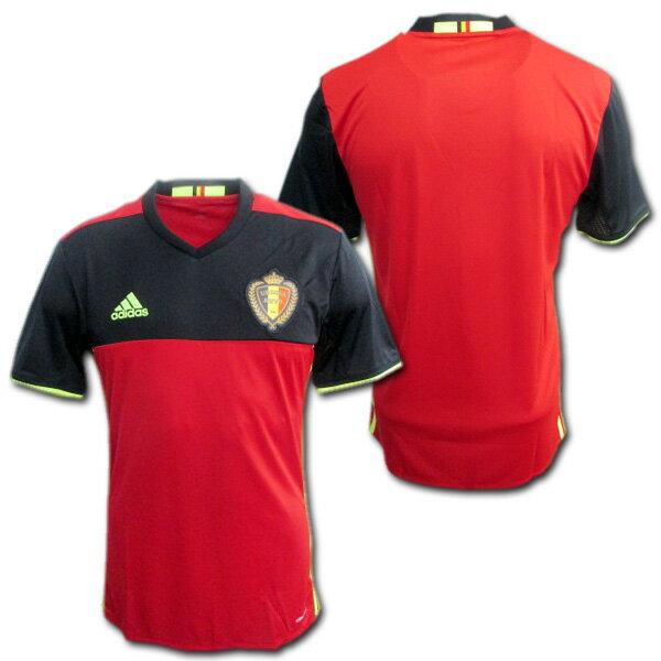【最新】 ベルギー代表 2016 ホーム(赤) ユーロ2016 ADIDAS