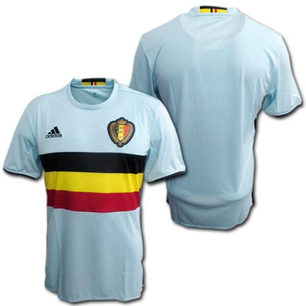 【最新】 ベルギー代表 2016 アウェイ(水色) ユーロ2016 ADIDAS