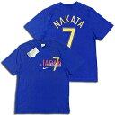 【送料無料】 NIKE 7番 中田英寿選手 Tシャツ 2006ワールドカップ・日本代表