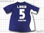 【送料無料】 06/07 アンデルレヒト アウェイ(紫) #5 L.BIGLIA ルーカス・ビリア adidas