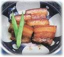 石垣島かりゆしで買える「沖縄・石垣島より♪割烹の味・三枚肉煮付(豚バラ肉)100g自家製」の画像です。価格は280円になります。