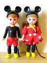 マクドナルド×マダムアレクサンダーハッピーミールウェンディドールディズニー【ミッキーマウス&ミニーマウス】2体セット人形